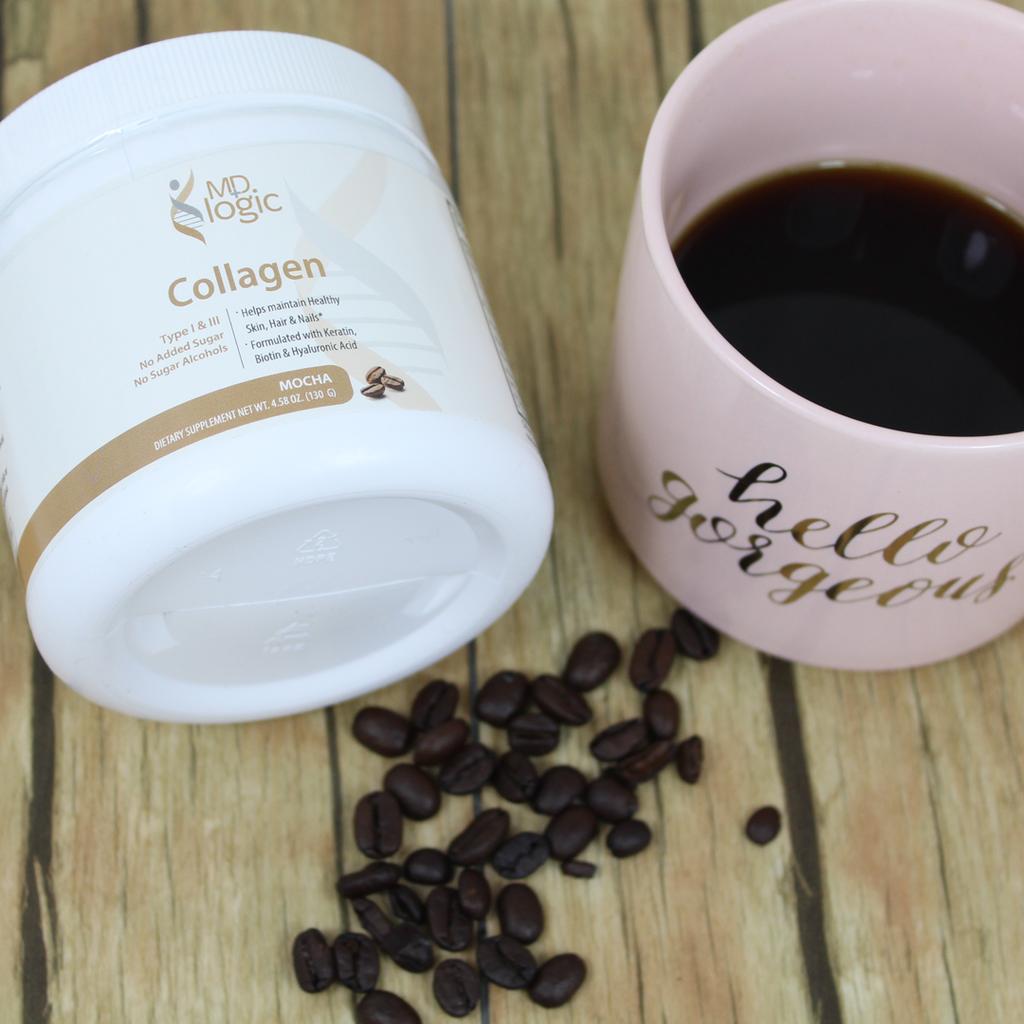 Collagen - Mocha Flavor (Powder)