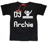Cool Personalized T-Shirt: DJ