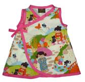 Punk Rock Baby Kimono Baby Dress: Lil Geishas