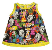 Punk Rock Baby Skull Dress: Wedding Day