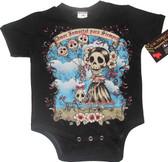 Punk Rock Baby Onesie or Toddler T-Shirt: Amor Inmortal