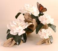 Gardenia With Butterfly 10396