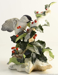 Boehm Chickadee With Snow Hallmark 40407