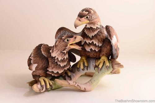 Boehm Bald Eagles-Young & Spirited Hallmark 400-49