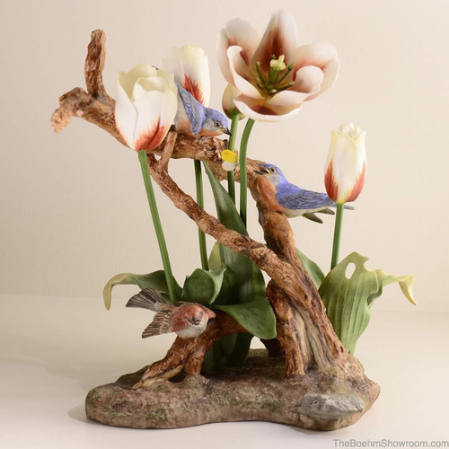 Boehm Nature's Harmony (White & Orange Tulips) Hallmark 40593W