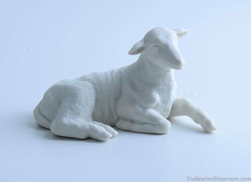 Boehm Nativity Large Lamb Hallmark BSB7L