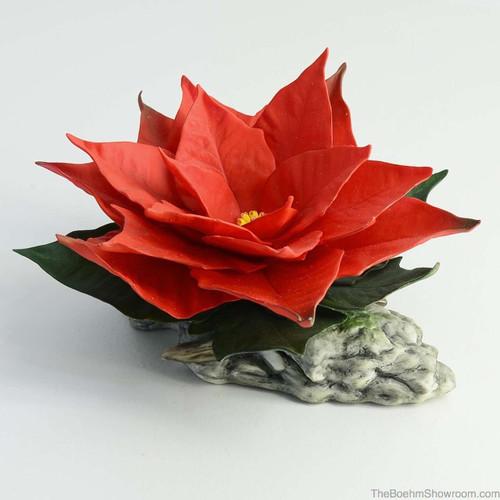Boehm Red Poinsettia Hallmark F240R