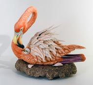 Flamingo With Baby 40316