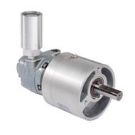 Gast 1UP-NRV-4-GR11 air powered gear motor
