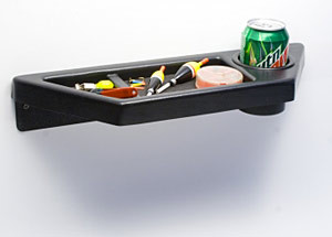 Catch Cover Wall Shelves are great for beverages, tackle, keys, cell phones etc