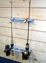 Fish House Rod Holders 4 Or 6 Rods Fishhousesupply Com