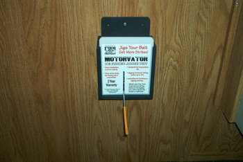 Motorvator mounted on wall