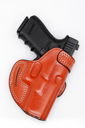 Leather BELT SCABBARD Holster - Open Top