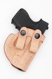 Inside the Waist Band (IWB) Concealment Holster with belt straps