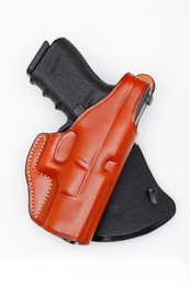 Leather PADDLE Holster - with retention