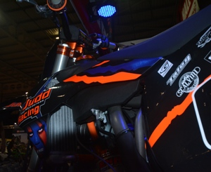 Stand out from the crowd with the New 2015 Judd Racing Stealth Edition Motocross Graphics!