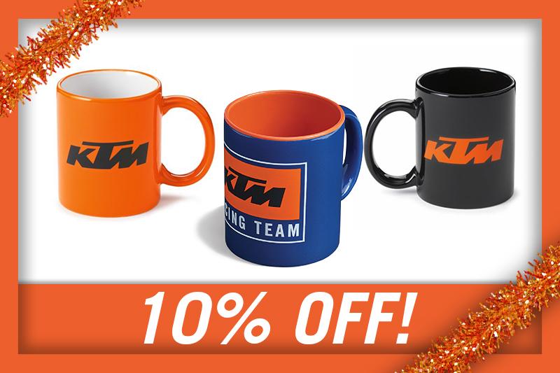 10% OFF KTM MUGS!