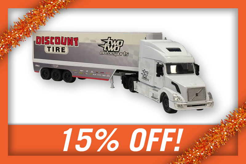 15% OFF CHAD REED TEAM TRUCK!