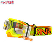RnR Platinum WVS System Roll Off Goggles 48mm - Neon Yellow