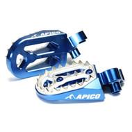 Apico Pro Bite Footpeg KTM - Blue