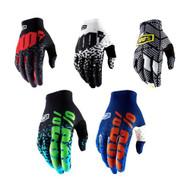100% Adult CELIUM 2 Gloves (Flash Black/Cyan, Flash Navy/Orange, Metal/Black, Metal/White, Code Black/White)