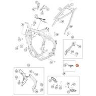 KTM OEM Chain Sliding Kit Below CPL.16 79003053010