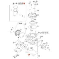 KTM OEM Cylinder Base Gasket 0.75mm 47230035075
