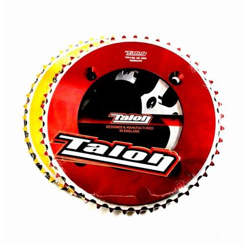 Talon Rear Sprocket Honda CR85 2003> (Gold, Red)
