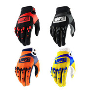 100% Youth Airmatic Gloves (Black, Orange/Navy, Black/Red, Yellow)