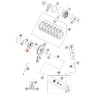 KTM OEM Inner Clutch Hub KTM 85SX 2018 Husqvarna TC85 2018 47232002000