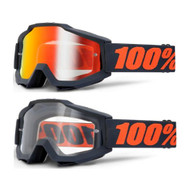 100% Goggles ACCURI - Gunmetal