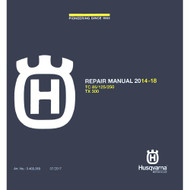 Husqvarna TC85 CD Repair Manual 2014-2018 3403069