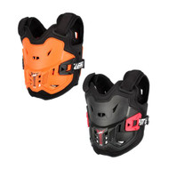 2018 Leatt Kids Chest Protector JR 110-134cm (Orange/Black, Black/Red)
