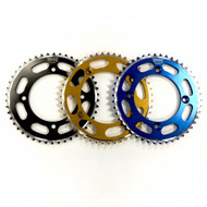 Talon Rear Sprocket Yamaha YZ65 2018 on, in Black, Gold or Blue