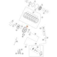 KTM OEM 85SX Husqvarna TC85 Clutch Basket 2018 47232001064