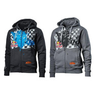 KTM Kini Overspray Zip Hoodie (Dark Blue / Grey) (3L10195X)
