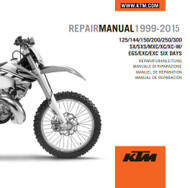 Edit a Product - KTM OEM DVD Repair Manual 125/144/150/200/250/300 SX/XC/EXC 1999-2015 (3206207)