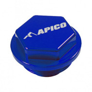 APICO KTM SX 125-450 2004 on Blue Rear Brake Cover (RBC007)