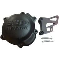 BUD RACING CARBON IGNITION COVER YZ 65/85cc with CHAIN COVER 2018 on (CAR085CA)