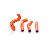 KTM SX50 2009 - 2011 Samco Sport Silicone Hose Kit - Orange