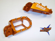 Talon X8 Foot Pegs KTM Orange