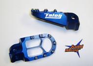 X8 Talon Foot Pegs KTM Blue