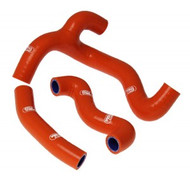 KTM SX50 12-17 Samco Sport Silicone Hose Kit - Orange