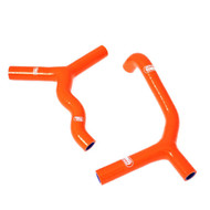 KTM 65 2009-2015 Samco Sport Silicone Coolant Hose Kit - Orange