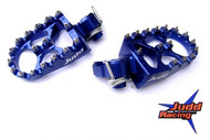 KTM Husqvarna Wide Foot Pegs Blue
