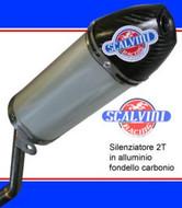 Scalvini Part Carbon Silencer KTM 50,65,85,125, Husqvarna 50, 65, 85, 125