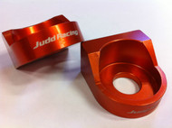AXLE BLOCKS KTM 65 SX 65SX 2002-2015 ORANGE
