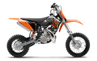 OEM KTM 50 2009 FULL PLASTIC KIT