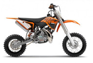 OEM KTM 50 2013 Full Plastic Kit