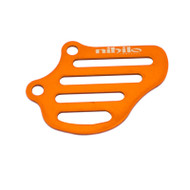Blue or Orange Nihilo Front Sprocket Cover for KTM 50 and Husqvarna TC 50